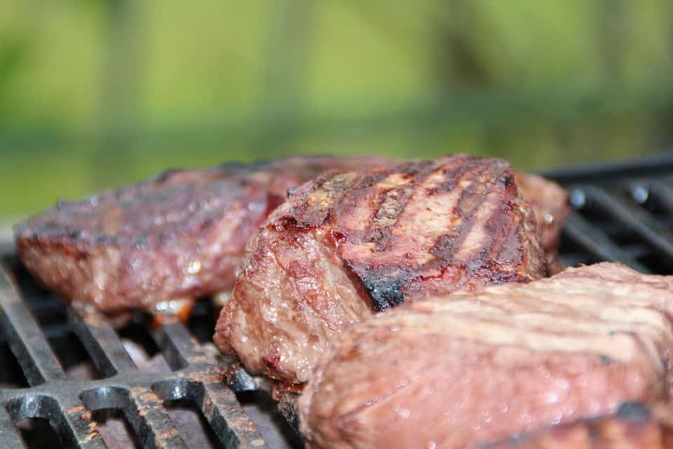 Biefstuk, Steaks, Barbecue, Zomer, Grill, Vlees