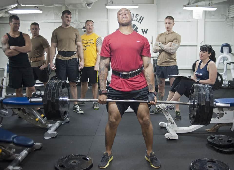 Fitness, overload, spieren