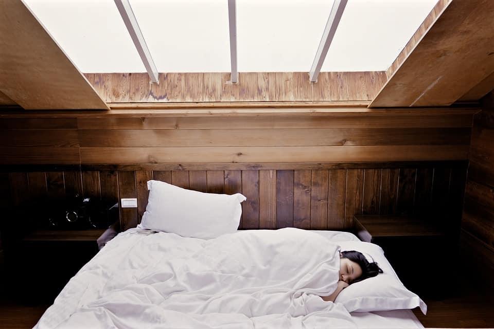 Slapen, moe, rust