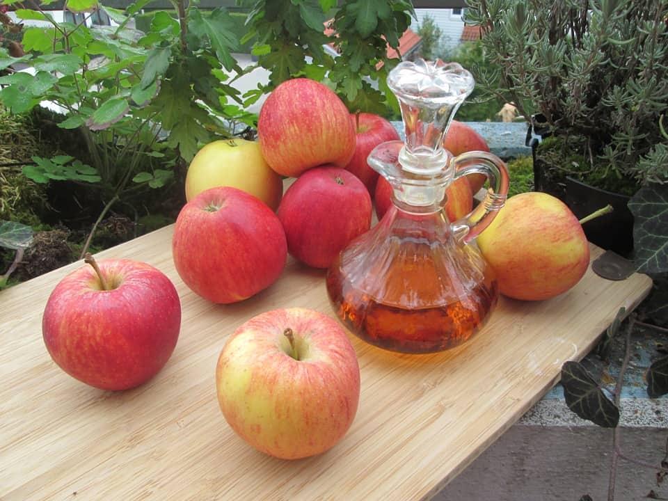 Appel azijn om af te vallen