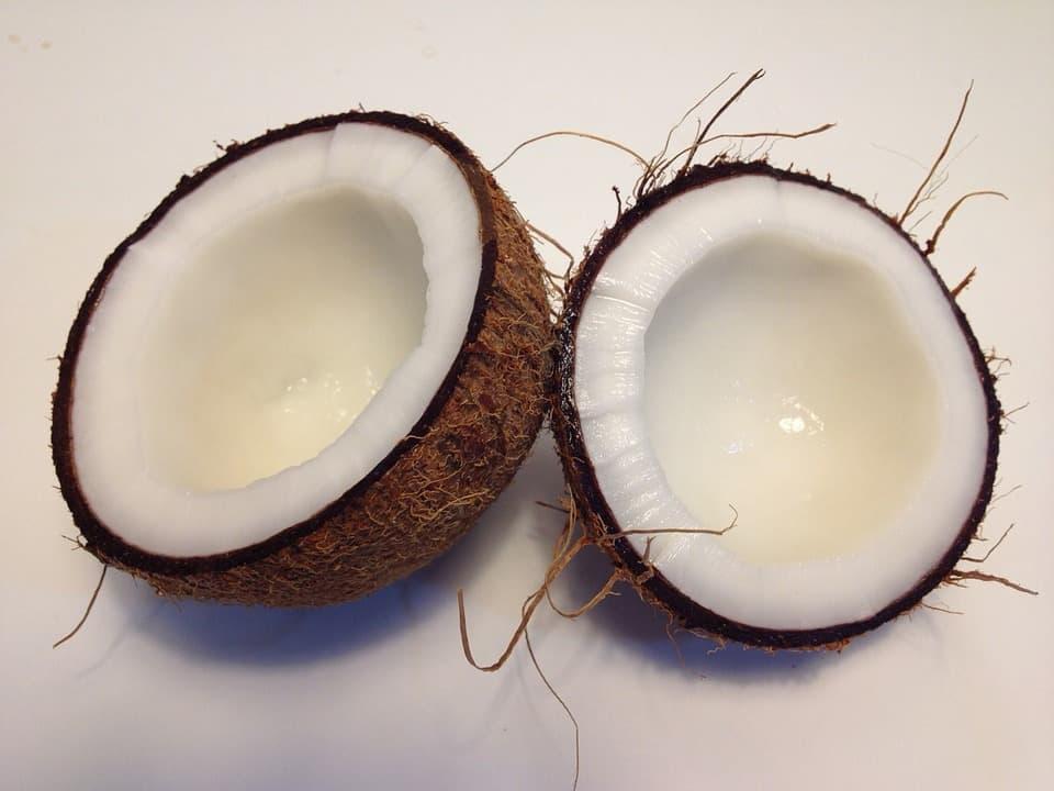 kokos afvallen