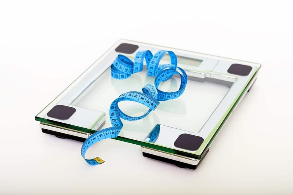 Afvallen, Gewichtverlis