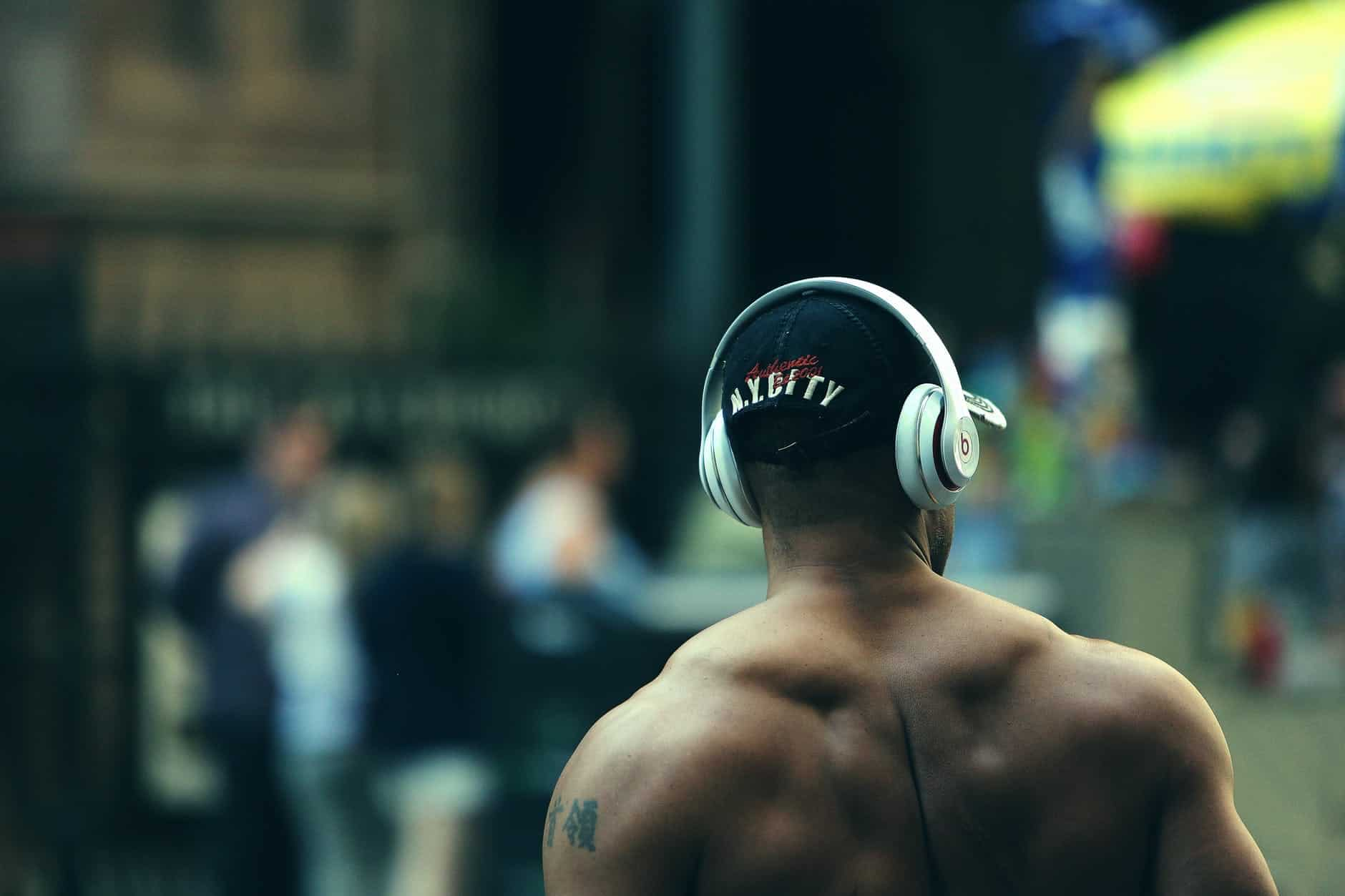 Headphones, Gym, Focus