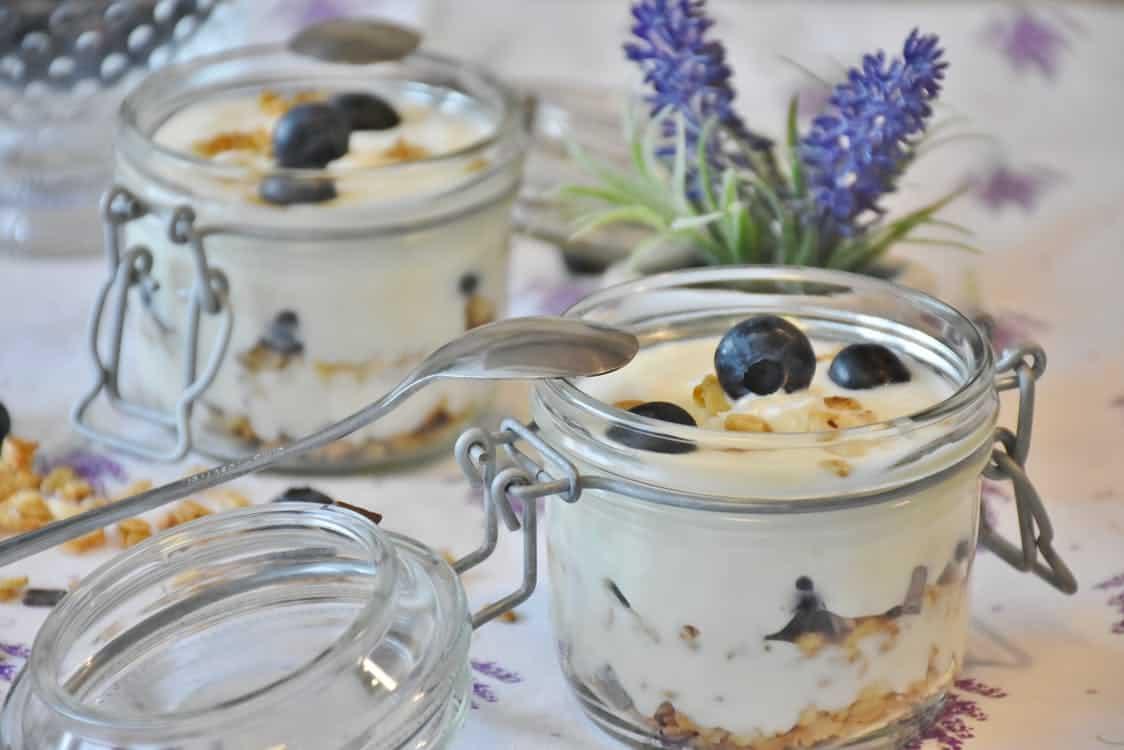 Yoghurt, Gewicht,