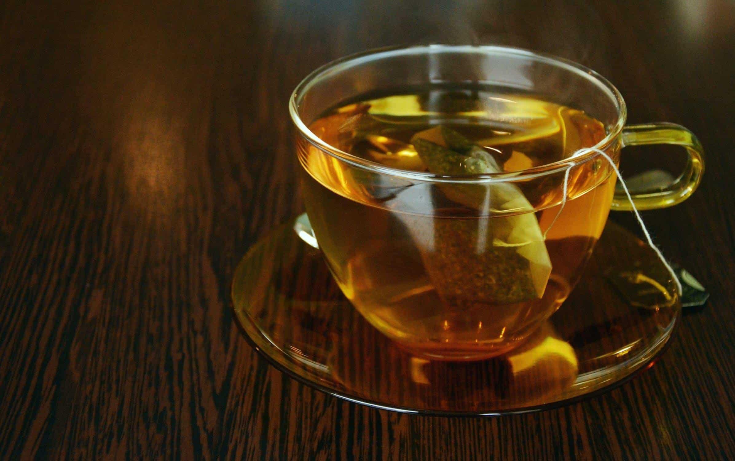 Groene thee sporten