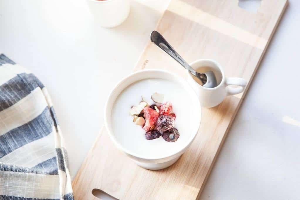 Griekse yoghurt thee
