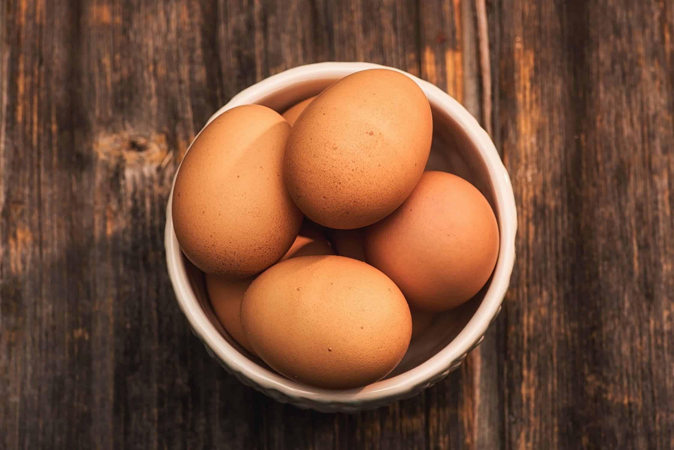 hoeveel eiwit in een ei
