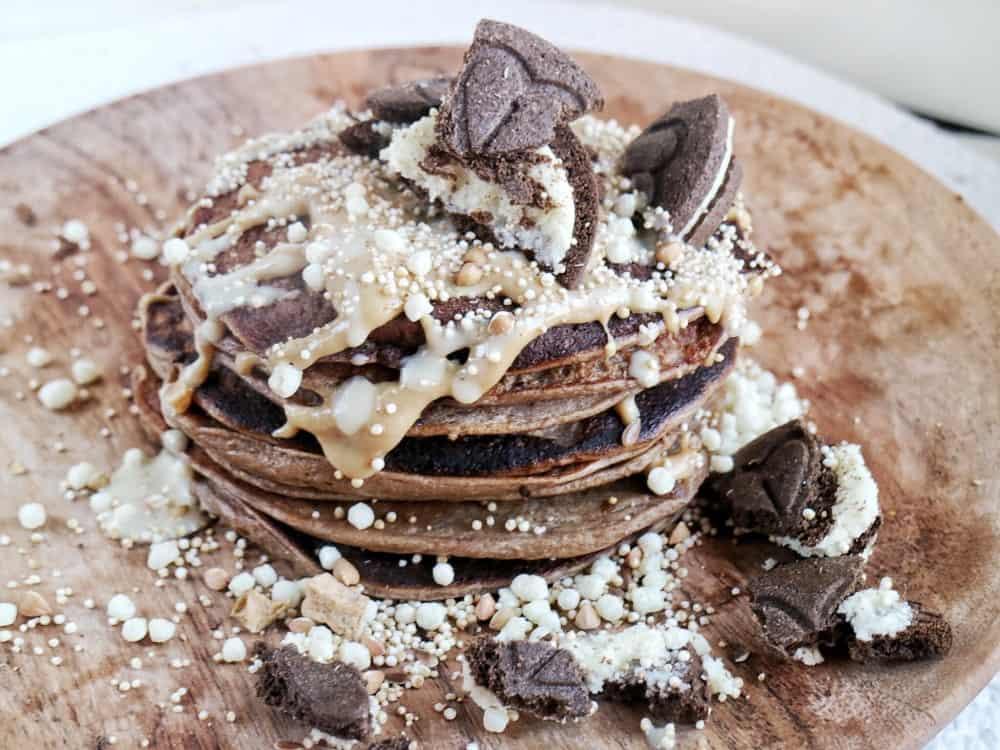 Gezondereceptjes Messy chocolate cookies