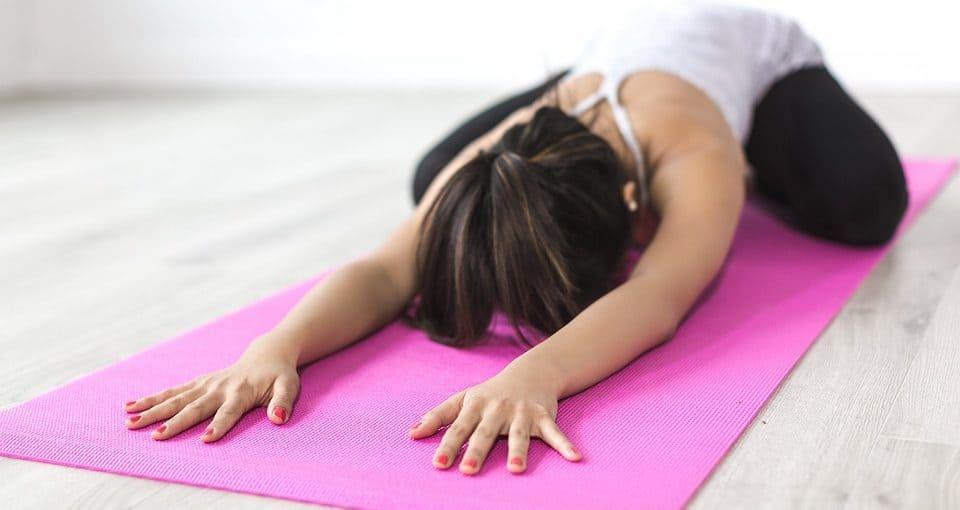 Eerste yoga les