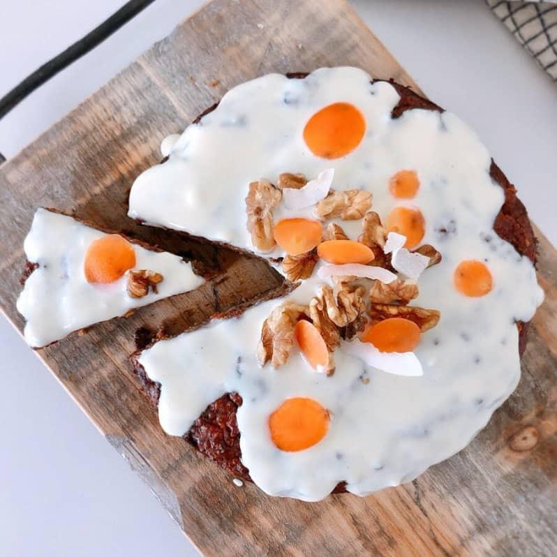 gezonde cake carrot