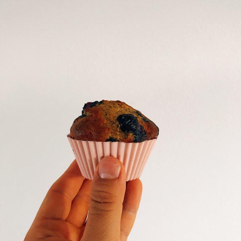 blueberry vanille muffins