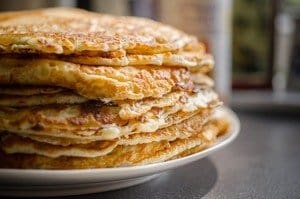 pancakes huttenkase