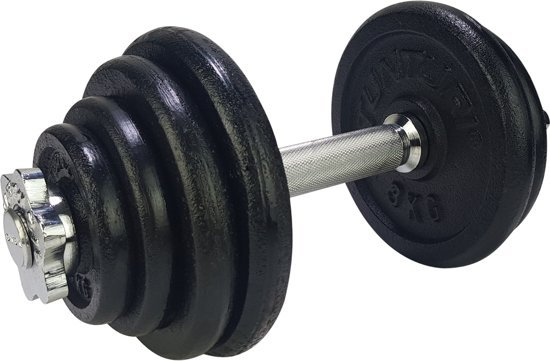 Tunturi Dumbbellset - Halterset - Totaal 15 kg