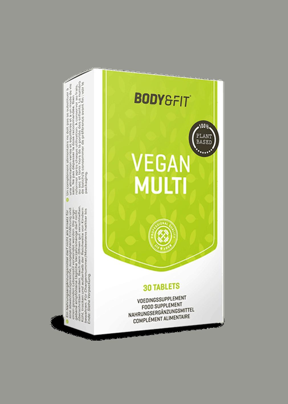 body&fit vegan multi